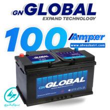 باطری ۱۰۰ آمپر گلوبال برنا باتری (کوتاه)
