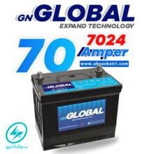 باطری ۷۰ آمپر گلوبال برنا باتری ۷۰۲۴